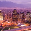 Santiago de Chile - Foto de Stock  