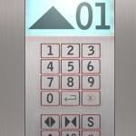 Elevator control panel — Stock Photo #15388491
