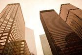 Skyscrapers in Manhattan — Stock Photo