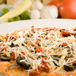 Close up of a Pizza — Stock Photo #15406317