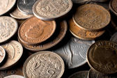 Latin American coins — Stock Photo