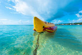 Banana boat — Stock Photo