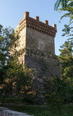 Tower of St. Constantine in Feodosia, Crimea, Ukraine — Stock Photo