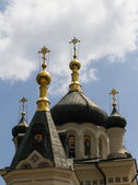 Dome of the Church of the Ascension of Christ, 1892, Fores, Crimea — Stock Photo