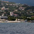 Yalta city view from the sea, Crimea, Ukraine — Stock Photo