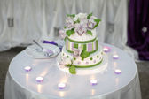 Stylish Wedding Cake — Stock fotografie