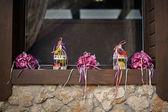 Düğün dekorasyon eşik — Stok fotoğraf