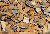 Scrap lumber — Stock Photo