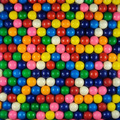 Multi-colored bubblegum balls background — Stock Photo