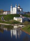 Assumption cathedral in Vitebsk, Belarus — Stock Photo