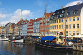Nyhavn on a sunny day — Stock Photo