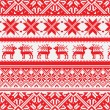 Norwegian pattern, vector Eps 8 illustration — Stock Photo