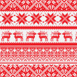 Royalty-Free Stock Photo: Norwegian pattern, vector Eps 8 illustration