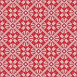 Norwegian pattern, vector Eps 8 illustration — Stock Vector #15359761
