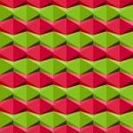 Seamless geometric pattern, vector illustration. — Stock Vector