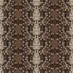 Snake skin reptile seamless pattern, vector illustration. — Stock Photo