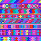 Seamless peruvian texture, vector Eps8 image. — Stock Photo