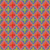 Söt retro mönster, vektor illustration. — Stockfoto