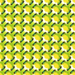 Geometric abstract lime and lemon style pattern vector - Stock Vector