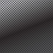 Vector pattern of perforation metal background — Stock Vector