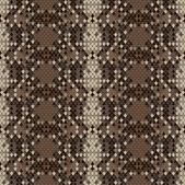 Snake skin reptile seamless pattern — Stock Vector