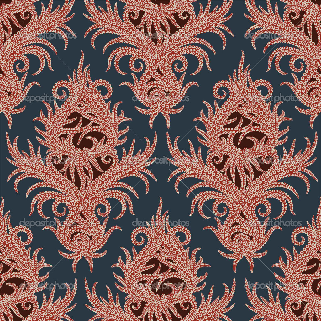 Octopus Pattern Octopus Background Pattern