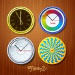 World time - Stock Vector