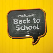 Back to school, — Vector de stock