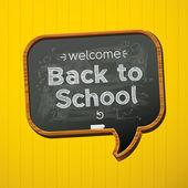 Back to school, — Stock Vector