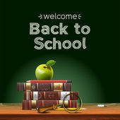 Back to school — Vector de stock