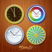 World time — Stock Vector