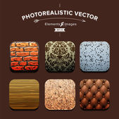Collection Interior Design elements — Stock Vector