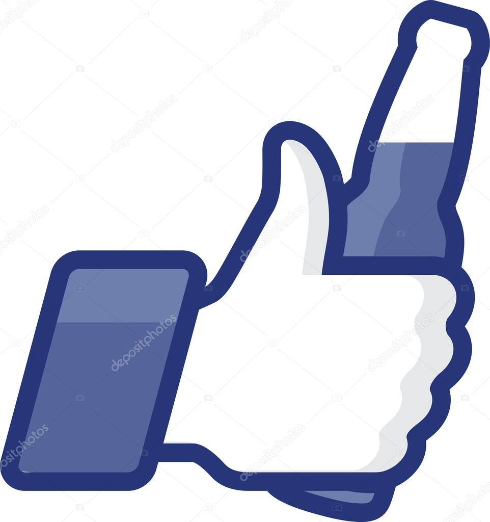 Like thumbs up symbol icon with beer bottl stock illustration