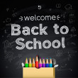 Royalty-Free Stock Vector Image: Back to school background