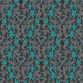 Seamless pattern in the style of Damascus. — Stock Vector