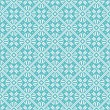 Seamless snowflakes background geometric pattern — Stock vektor