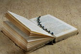 An antique book — Stock Photo
