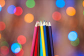 Multi-colored pencils — Stock Photo