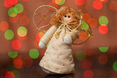Angel - a Christmas toy — Stock Photo
