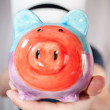 Saving money for the future — Stockfoto