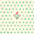Merry Christmas festive background. Vector Christmas tree — Vettoriali Stock