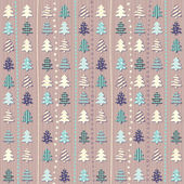 Christmas pattern in light pastel colors — Stock Vector
