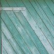 Green grunge wood texture with diagonal stripes — Stock Photo