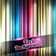 Colorful and shiny stripes background. With place for your text — Imagen vectorial