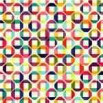 Muster der farbigen geometrischen Elemente — Stockvektor  #36217767