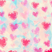 Triangle heart background — Vecteur