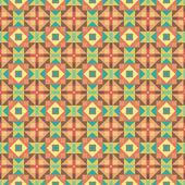 Graficzny kolorowy wzór. urządzony — Wektor stockowy