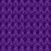 Knitted violet background — Stock vektor