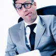 Freak out of stressed manager at the office — Stock Photo #20099711