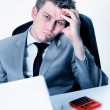 Breakdown of businessmat office — Stock Photo #20101283